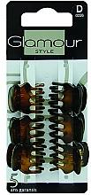 Kup Spinki do włosów, 0226, brązowe - Glamour