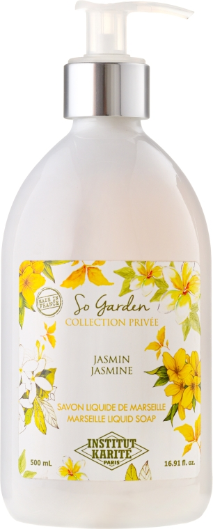 Mydło w płynie Jaśmin - Institut Karité So Garden Collection Privée Jasmine Marseille Liquid Soap