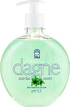 Kup PRZECENA! Mydło w płynie Zielona herbata - Seal Cosmetics Dagne Liquid Soap *