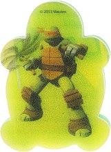 Kup Gąbka kąpielowa dla dzieci, Wojownicze Żółwie Ninja, Michelangelo 5 - Suavipiel Turtles Bath Sponge