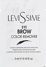 Kup Preparat do usuwania farby z brwi - LeviSsime Eye Brow Color Remover (próbka)