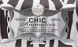 Kup Naturalne mydło w kostce Hibiskus, mleczko z baobabu i frezja - Nesti Dante Chic Animalier