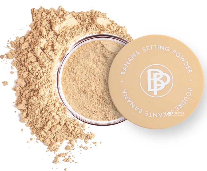 Bananowy puder do utrwalania makijażu - Bellapierre Cosmetics Banana Setting Powder — фото N2