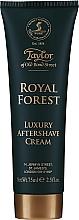 Kup Taylor of Old Bond Street Royal Forest Aftershave Cream - Krem po goleniu do twarzy dla mężczyzn