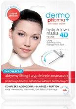 Kup Hydrożelowa maska 4D na szyję Aktywny lifting i wypełnienie zmarszczek - Dermo Pharma