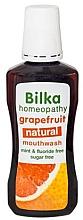 Kup Naturalny płyn do płukania jamy ustnej Grejpfrut - Bilka Homeopathy Grapefruit Mouthwash