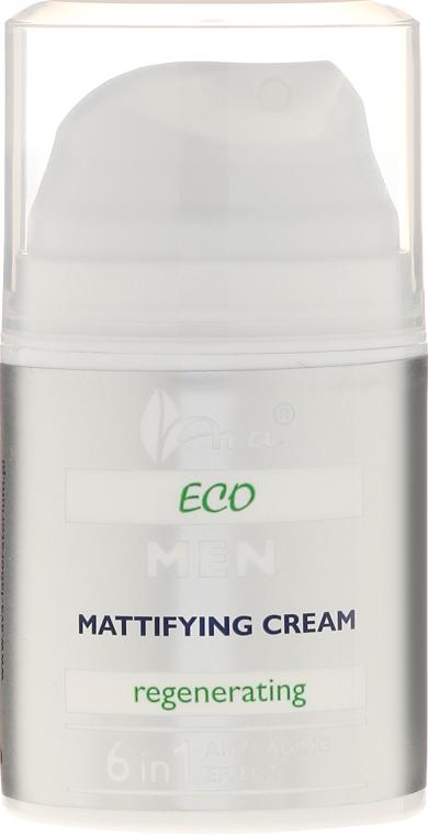 Regenerujący krem matujący dla mężczyzn - Ava Laboratorium Eco Men Cream — фото N2