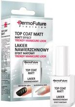 Kup Lakier nawierzchniowy Efekt matowy - DermoFuture Precision Top Coat Matt