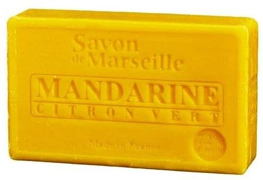 Naturalne mydło w kostce Mandarynka i limonka - Le Chatelard 1802 Soap Mandarin & Lime — фото N1
