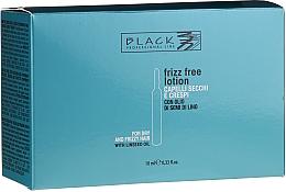 Kup PRZECENA! Ampułki do prostowania włosów suchych i puszących się - Black Professional Line Anti-Frizz *