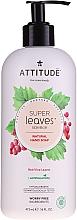 Kup Mydło pianka do rąk Liście czerwonych winogron - Attitude Natural Red Vine Leaves Foaming Hand Soap