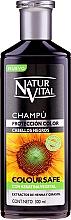 Kup Szampon utrwalający kolor włosów farbowanych - Natur Vital Coloursafe Henna Colour Shampoo Black Hair