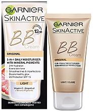 Kup Krem BB do twarzy - Garnier Skin Active BB Cream Original 5in1 Daily Moisturiser