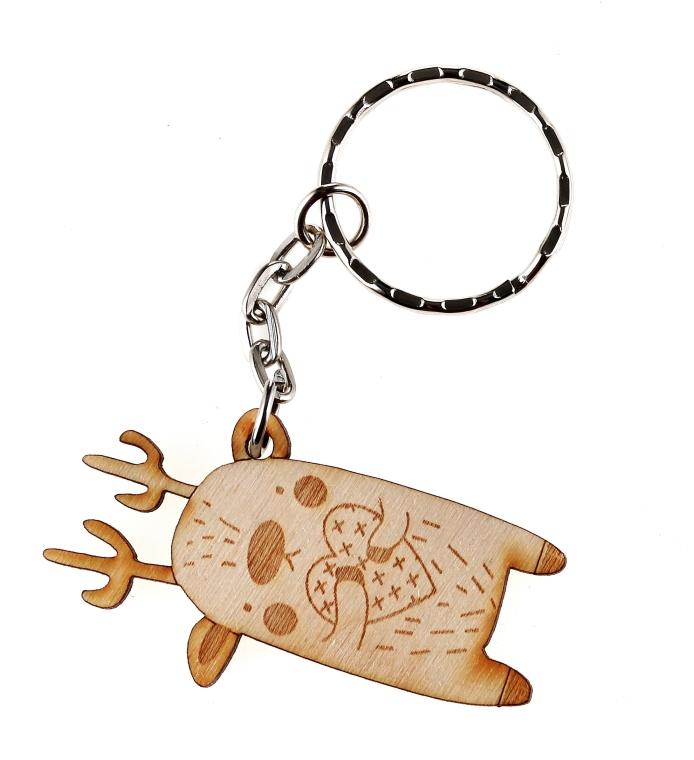 Zestaw świąteczny do skóry suchej i normalnej - Shy Deer (emulsion 200 ml + tonic 200 ml + peel 100 ml + cotton pad + keychain) — фото N8