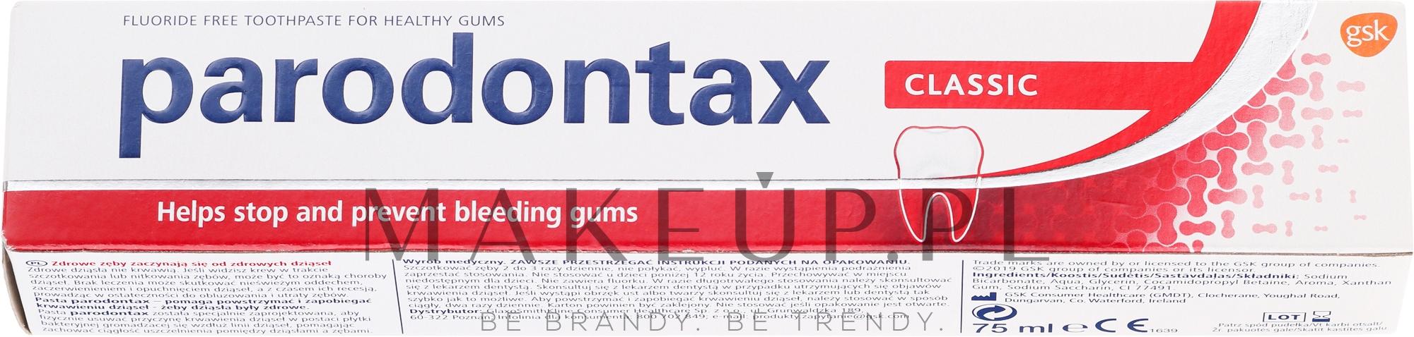 Pasta do zębów Classic - Parodontax Classic — фото 75 ml
