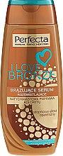 Kup Brązujące serum rozświetlające do ciała - Perfecta I Love Bronze Serum