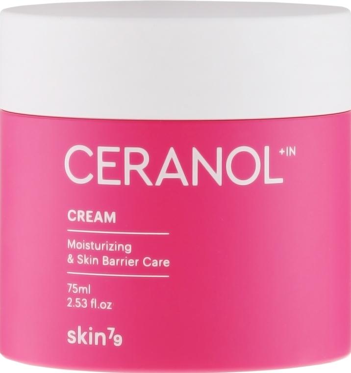 Nawilżająco-regenerujący krem do twarzy - Skin79 Ceranol+In Cream Moisturizing & Skin Barrier Care — фото N2