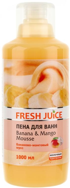 Płyn do kąpieli - Fresh Juice Banana and Mango Mousse