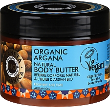 Kup Naturalne masło do ciała Organiczny argan - Planeta Organica Organic Argana Natural Body Butter