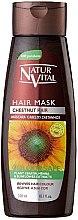 Kup Odżywka do włosów farbowanych wzmacniająca ich kolor - Natur Vital Coloursafe Henna Hair Mask Chestnut Hair