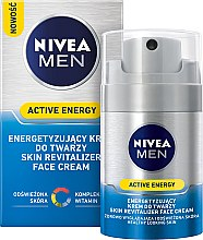 Kup Energetyzujący krem do twarzy - Nivea For Men Active Energy