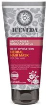 Kup Intensywnie nawilżająca maska ziołowa do włosów Arktyczna róża i lotos - Iceveda