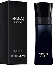 Giorgio Armani Code - Woda toaletowa — фото N2