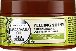 Kup Peeling solny z olejem makadamia - GlySkinCare Macadamia Oil Salt Scrub