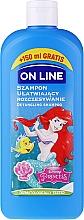 Malinowy szampon ułatwiający rozczesywanie włosów dla dzieci - On Line Disney The Little Mermaid — фото N1