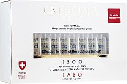Kup Kuracja w ampułkach na rzednące włosy dla mężczyzn - Crescina Re-Growth Anti-Hair Loss Complete Treatment 1300 Man