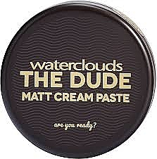 Matująca pasta do włosów - Waterclouds The Dude Matt Cream Paste	 — фото N1