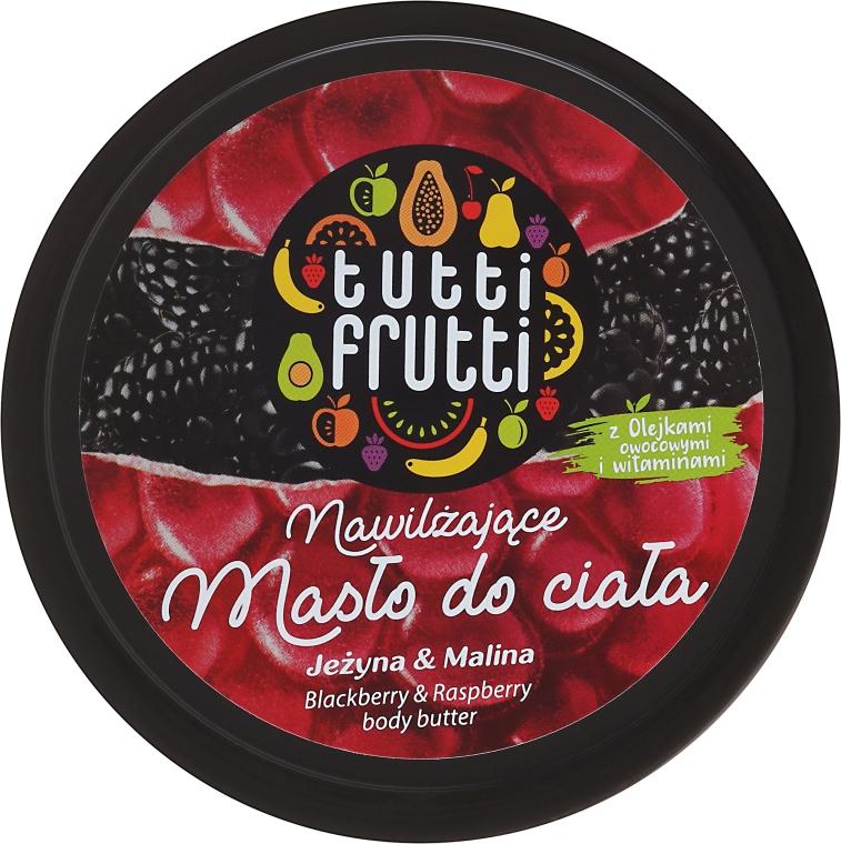 Nawilżające masło do ciała Malina i Jeżyna - Farmona Tutti Frutti Blackberry & Raspberry — фото N1