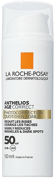 Codzienna fotoprotekcja przeciwstarzeniowa SPF 50+ - La Roche-Posay Anthelios Age Correct SPF50+ — фото N1