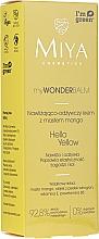 Kup Nawilżająco-odżywczy krem do twarzy z masłem mango - Miya Cosmetics My Wonder Balm Hello Yellow Face Cream
