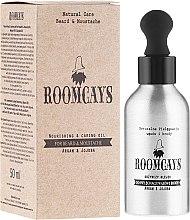 Odżywczy olejek do pielęgnacji wąsów i brody Argan i jojoba - Roomcays  — фото N1