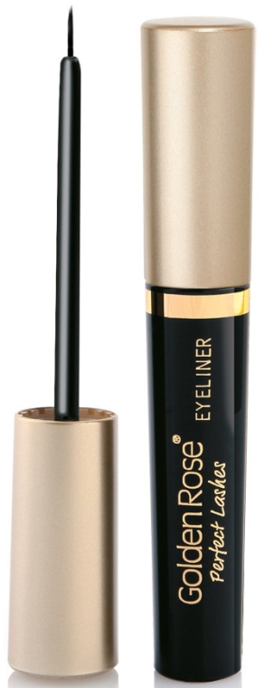 Eyeliner w płynie - Golden Rose Perfect Lashes EyeLiner