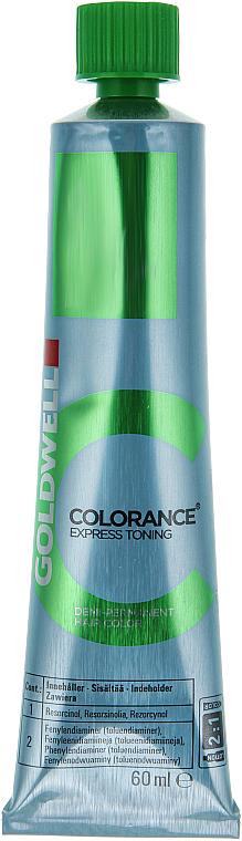 PRZECENA! Ekspresowy krem do półtrwałej koloryzacji bez amoniaku - Goldwell Colorance Express Toning Hair Color * — фото N2