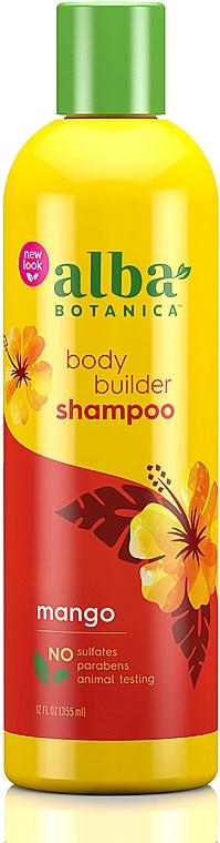Naturalny hawajski szampon Puszyste mango - Alba Botanica Natural Hawaiian Shampoo Body Builder Mango — фото N1