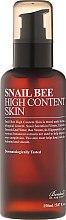 Tonik do twarzy z wysoką zawartością śluzu ślimaka - Benton Snail Bee High Content Skin — фото N2