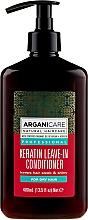 Kup Odżywka bez spłukiwania do włosów suchych - Arganicare Keratin Leave-in Conditioner For Dry Hair