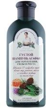 Kup Gęsty szampon zwiększający siłę i wzrost włosów - Receptury Babci Agafii