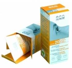 Kup Przeciwsłoneczny krem SPF 20 z wyciągiem z granatu i rokitnika - Eco Cosmetics Suntan Cream SPF 20