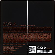 Paletka do konturowania twarzy - Zoeva Contour Spectrum Contour Powder — фото N3