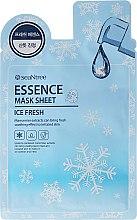 Kup Chłodząca maska na tkaninie do twarzy - SeaNtree Ice Fresh Essence Mask Sheet