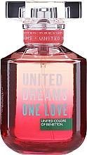 Kup PRZECENA! Benetton United Dreams One Love - Woda toaletowa*