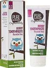 Kup Pasta do zębów z ksylitolem dla dzieci Jagody - Pure Beginnings Organic Kids Berry Toothpaste With Xylitol