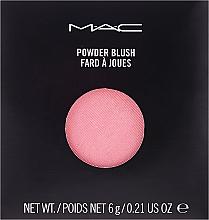 Kup MAC Powder Blush Pro Palette Refill - Róż do policzków (wymienny wkład)