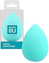 Kup Gąbka do makijażu, turkusowa - Ilu Sponge Raindrop Turquoise