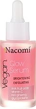 Kup Rozjaśniająco-złuszczające serum do twarzy - Nacomi Vegan Glow Serum