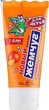 Kup Pomarańczowa pasta do zębów dla dzieci 1-6 lat - Novyj zhemchug